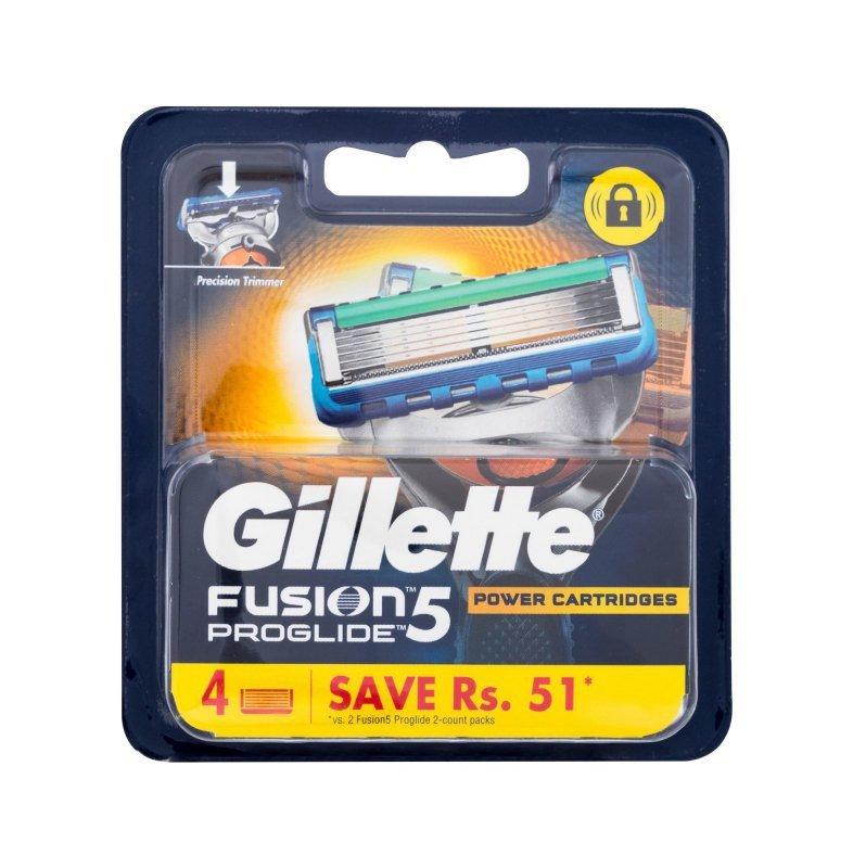 Gillette Fusion Proglide (Wkład do maszynki, M, 4szt)