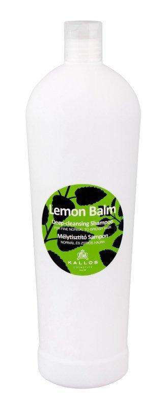 Kallos Cosmetics Lemon Balm (Szampon do włosów, W, 1000ml)