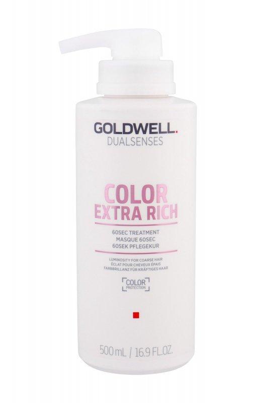 Goldwell Dualsenses Color Extra Rich 60 Sec Treatment (Maska do włosów, W, 500ml)