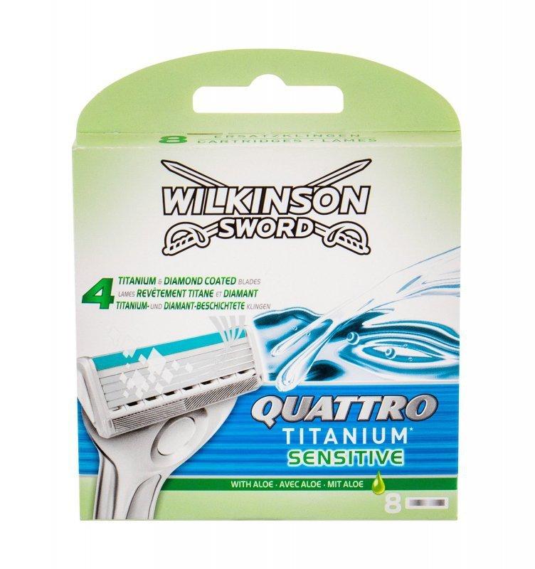 Wilkinson Sword Quattro (Wkład do maszynki, M, 8szt)