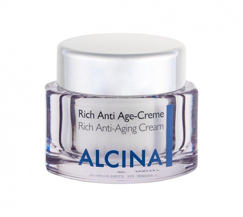 ALCINA Rich Anti-Aging Cream (Krem do twarzy na dzień, W, 50ml)