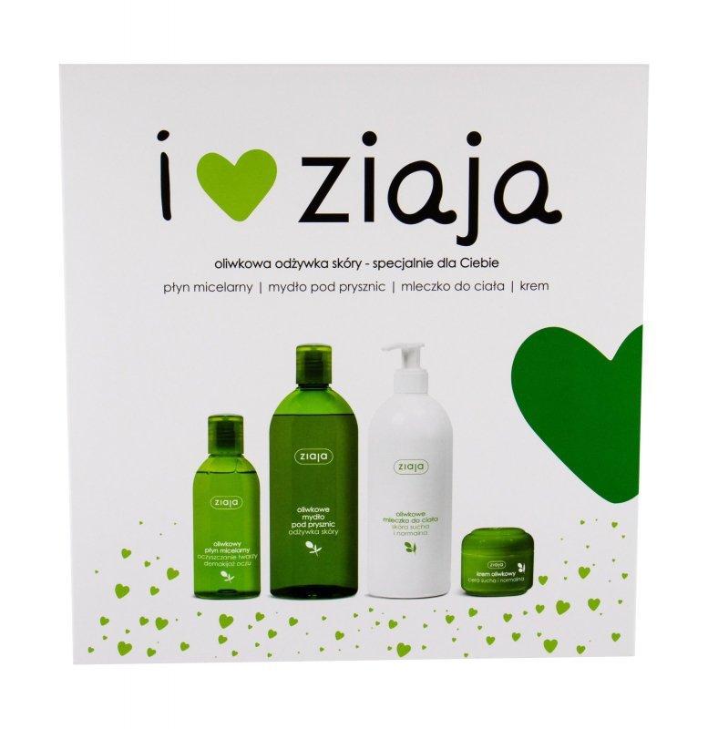 Ziaja Natural Olive (Żel pod prysznic, W, 500ml)