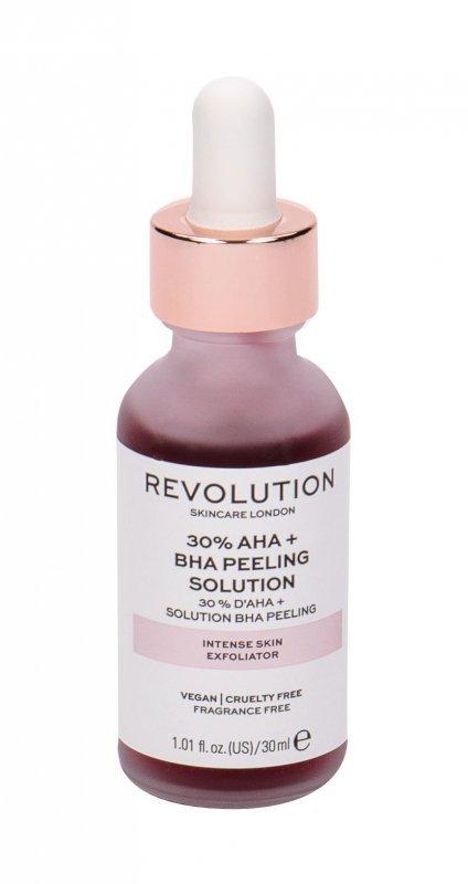 Revolution Skincare Skincare 30% AHA + BHA Peeling Solution (Peeling, W, 30ml)