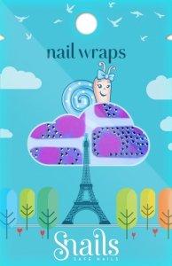 Naklejki na paznokcie, Nail Wrap – Pink Zebra, różowa zebra