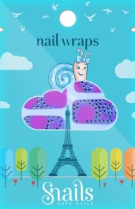 Snails, Naklejki na paznokcie, Nail Wrap – Pink Panther, różowa pantera
