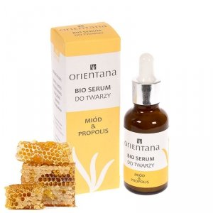 Orientana, BIO SERUM do twarzy MIÓD I PROPOLIS, 30ml