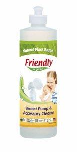 Friendly Organic, Płyn do czyszczenia laktatorów, 473 ml