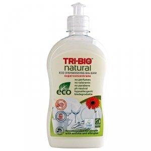 TRI-BIO, Ekologiczny Skoncentrowany Balsam do Mycia Naczyń, 420 ml