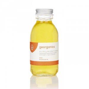 Georganics, Olej do płukania ust, Red Mandarin, 100 ml