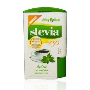 ZIELONY LISTEK Stevia 250 tabletek