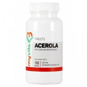 MyVita Acerola 250mg, 100tabl.