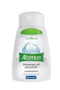 Żel pod prysznic dla mężczyzn z nanosrebrem 250ml VINSVIN