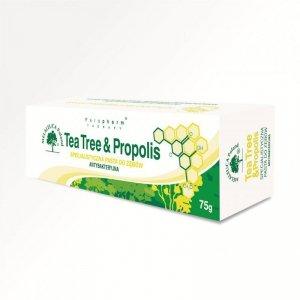 Tea Tree Pasta do zębów z PROPOLISEM antybakteryjna (bez fluoru) 75g MELALEUCA