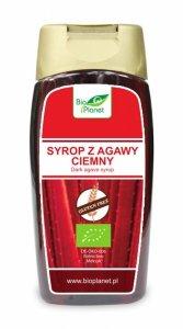 SYROP Z AGAWY CIEMNY BEZGLUTENOWY BIO 350 g (250 ml) - BIO PLANET