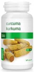 KURKUMA BIO 120 KAPSUŁEK (325 mg) - PURASANA