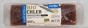 CHLEB ORKISZOWY FITNESS BIO 500 g - NIRO