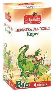 HERBATKA DLA DZIECI - KOPER BIO 20 x 1,5 g - APOTHEKE