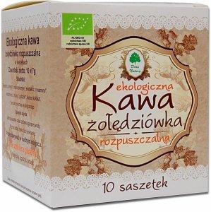 KAWA ŻOŁĘDZIÓWKA ROZPUSZCZALNA W SASZETKACH BEZGLUTENOWA  BIO (10 x 7 g) 70 g - DARY NATURY