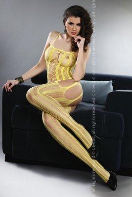 Almas Yellow LC 17132 bodystocking żółte