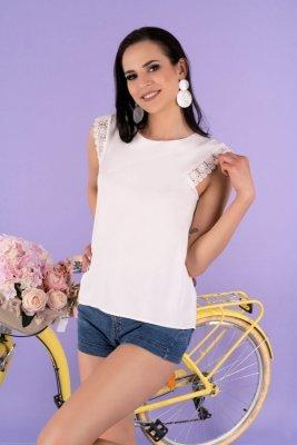Arase White B32 bluzka