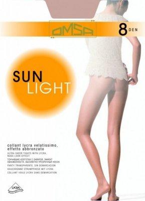 Rajstopy Sun Light 8DEN