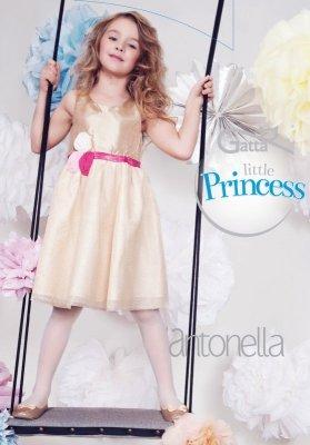 ANTONELLA - Rajstopy dziewczęce gładkie