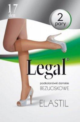 Podkolanówki damskie Legal Elastil