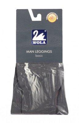 Kalesony gładkie męskie bawełna
