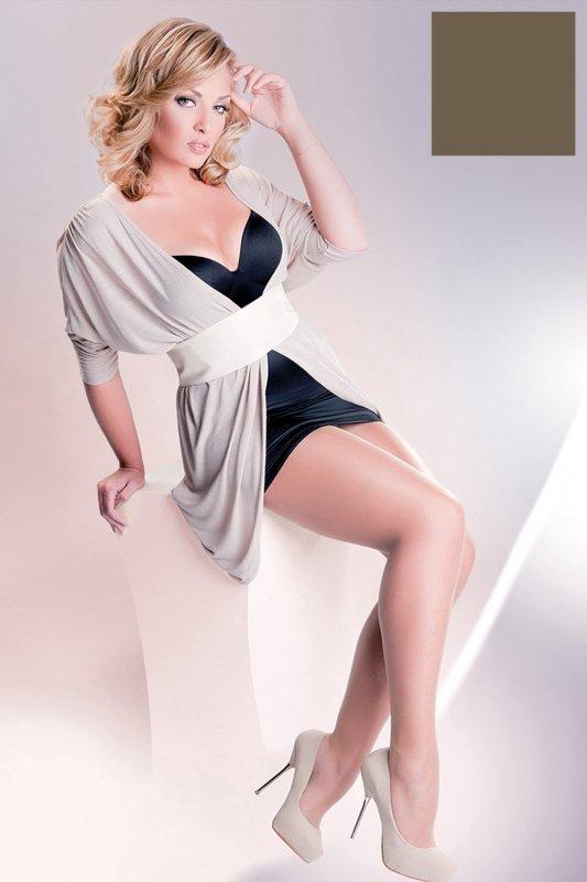 Gabriella Rubensa Plus Size code 161 rajstopy 20 den
