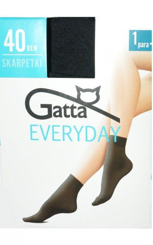 GATTA EVERYDAY - SKARPETKI DAMSKIE MIKROFIBRA 40 DEN