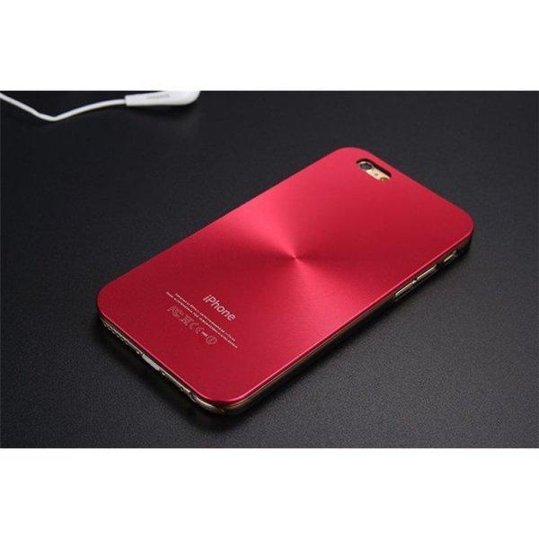 ALUMINIOWE ETUI CASE NA TELEFON IPHONE 5/5S - CZERWONE ETUI21