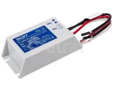 Zasilacz LED stałoprądowy PZL 18 350mnA 020601010024