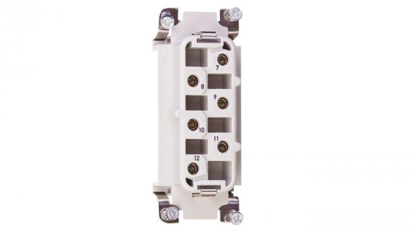 Wkład złącza 6P+PE żeński 35A 500V EPIC H-BS 6 BS 7-12 10171600