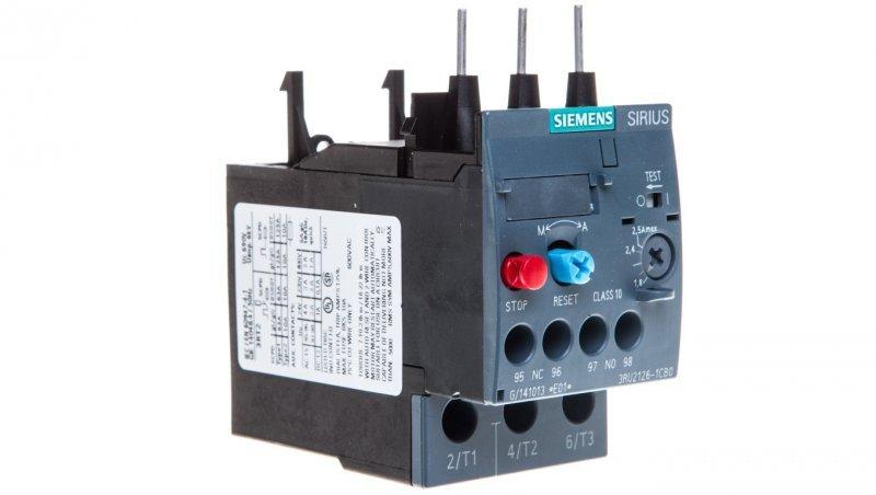 Przekaźnik termiczny 1,8-2,5A S0 3RU2126-1CB0