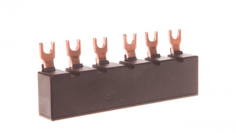 Szyna łączeniowa 3P widełkowa (6 mod.) do 2 wyłączników 3RV1915-1AB