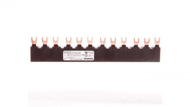 Szyna łączeniowa 3P widełkowa (12 mod.) do 4 wyłączników 3RV1915-1CB
