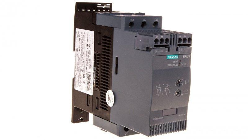 Softstart 3-fazowy 200-480VAC 63A 30kW/400V Uc=110-230V AC/DC S2 3RW3037-1BB14