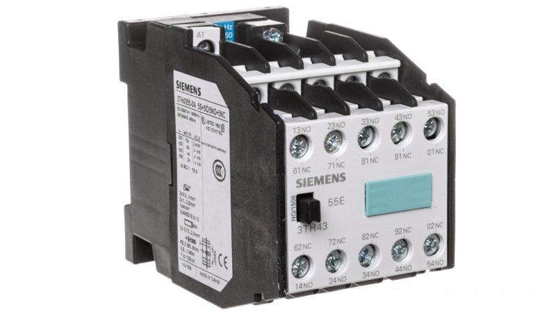 Stycznik pomocniczy 6A 5Z 5R 230V AC 3TH4355-0AP0