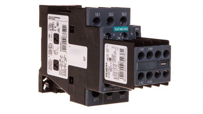 Stycznik mocy 25A 3P 24V DC 2Z 2R S0 3RT2026-1BB44
