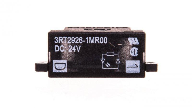 Układ tłumiący dioda 24V DC ze wkaźnikiem LED S0 3RT2926-1MR00