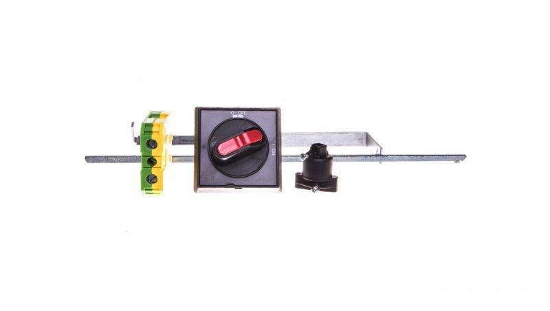 Awaryjny napęd obrotowy drzwiowy IP55, wielkość S0...S3, czarny wałek 330 mm 3RV2926-0K