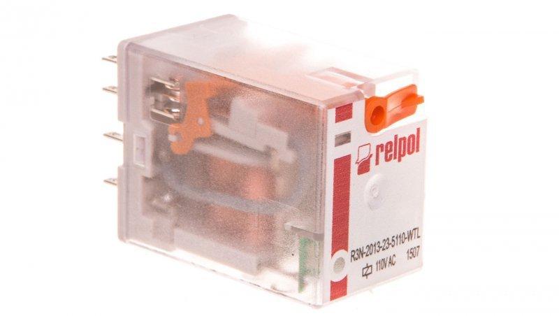 Przekaźnik przemysłowy 3P 110V AC AgNi R3N-2013-23-5110-WTL 860684