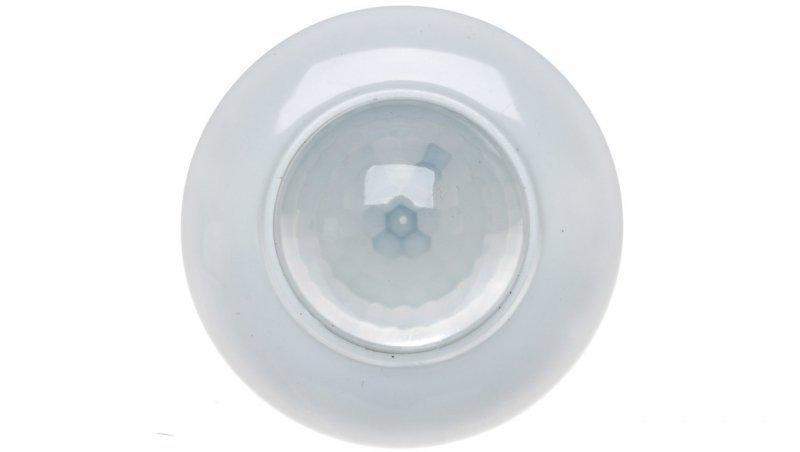 Czujnik ruchu PIR 360° 230V AC montaż sufitowy biały DR-07