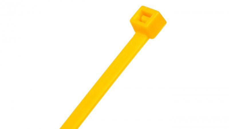 Opaska kablowa żółta 290x4,5mm BMY3048 /100szt./