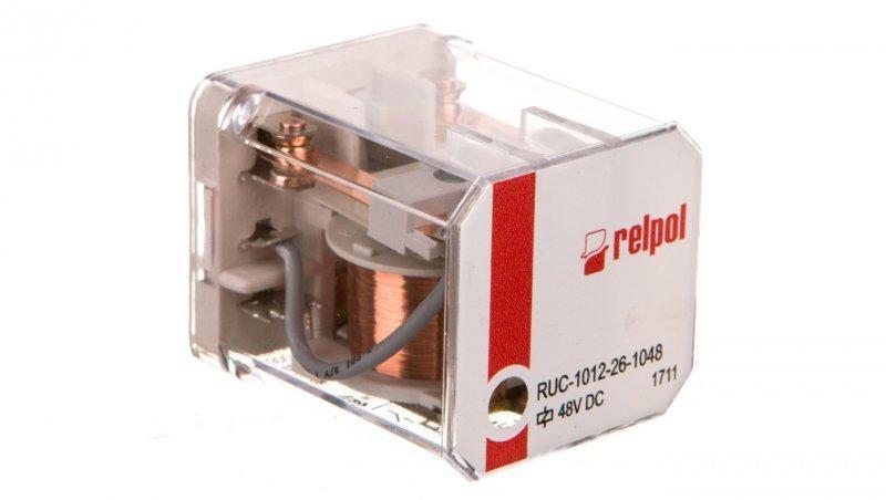 Przekaźnik przemysłowy 2P 48V DC 16A RUC-1012-26-1048 853917