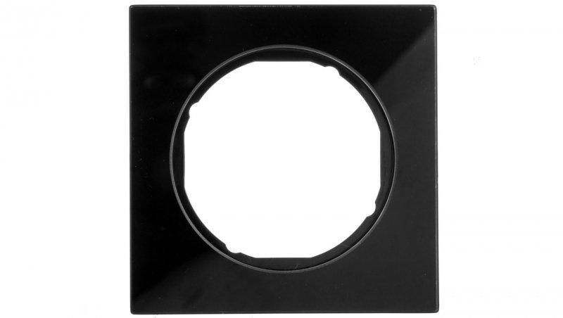 R.3 Ramka pojedyncza szkło czarna 10112216