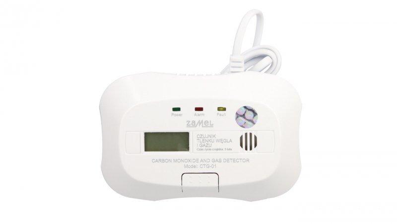 Czujnik tlenku węgla /czadu/ i gazu 2w1CTG-01 GAR10000054