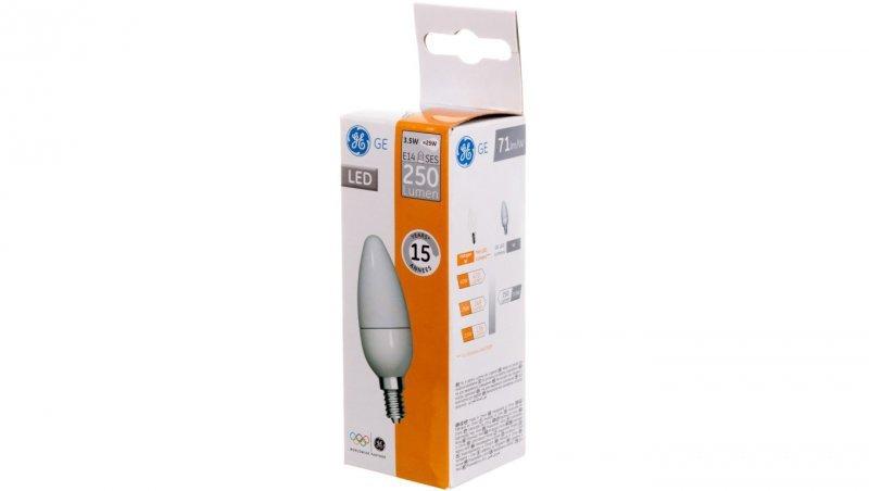 Żarówka LED świeczka 3,5W E14 230V LED3.5/B35/827/E14/100-240V/FR 1/10 250lm 93012862