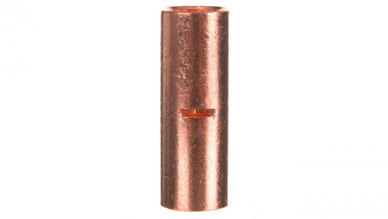 Końcówka /tulejka/ łącząca miedziana niecynowana 50mm2 LN50 /20szt./