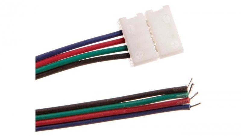 Złączka XC11 do taśm LED RGB z przewodem /2m/ LD-ZTLRGB2M-4N